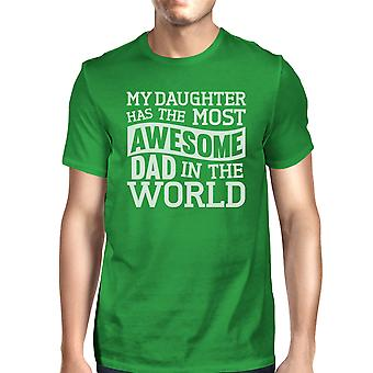 The Most Awesome Dad Men's Graphic Tee Funny Father Day Gift Ideas
