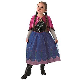 Księżniczka Anna Frozen lód kostium królowej z muzyką i efekt świetlny dzieci Anna i ELSA