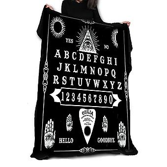 Wild star hearts - ouija board - fleece / throw / tapestry