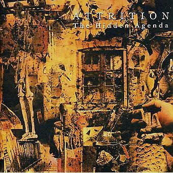 Attrition - Hidden Agenda [CD] USA import