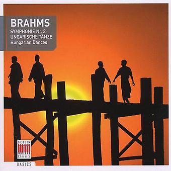 J. Brahms - Symphony 3/Hungarian Danc [CD] USA import