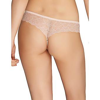 Mio Classic Primrose Pink Floral Thong 158-13-S