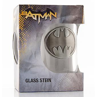 DC Comics Batman Logo Stein Glass