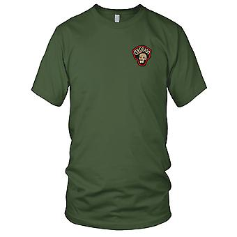 MACV-SOG Colorado - US Army Special Forces schedel CCC Recon Vietnamoorlog geborduurde Patch - Mens T Shirt