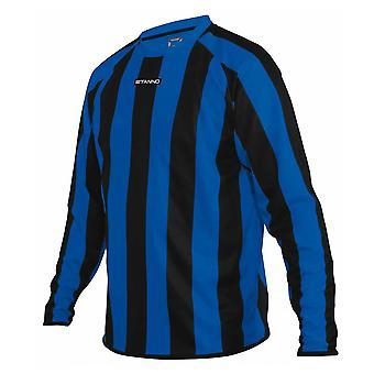 STANNO goteborg long sleeve football shirt [royal/black]