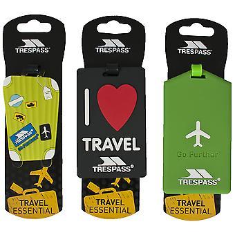 Trespass Traveltag assortiment Bagage label