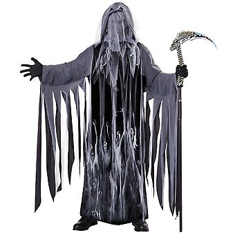 Soul Taker Grim Reaper Ghost Spirit Death Horror Halloween Mens Costume