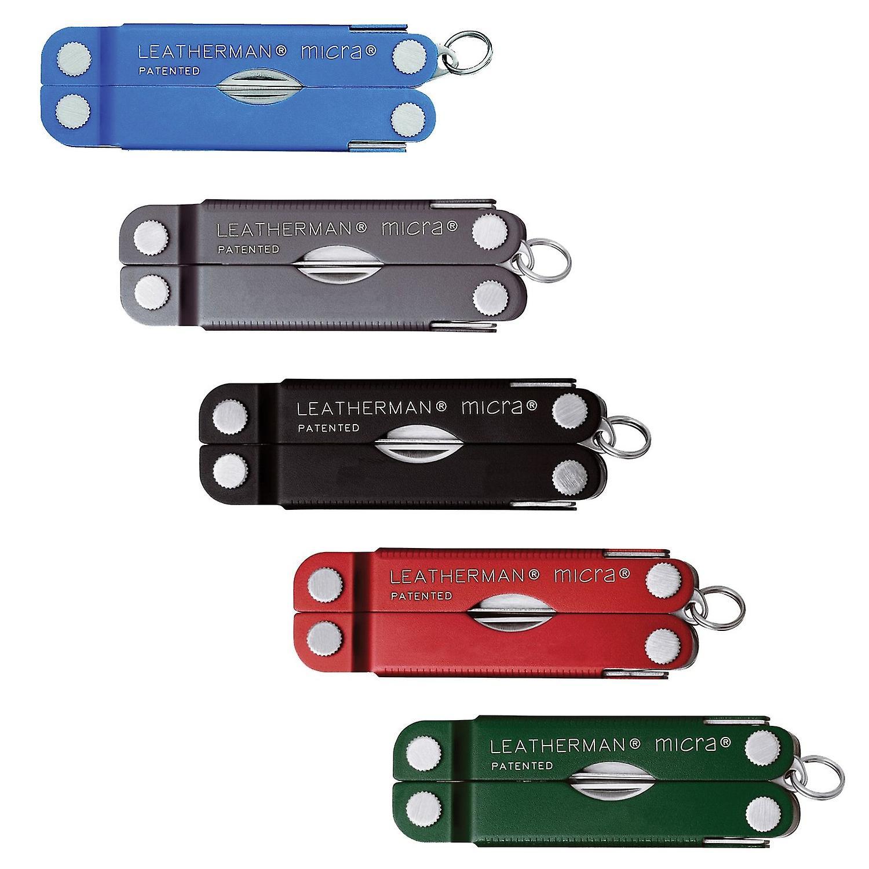 Leatherman Micra Schlüsselbund Multitool 10 Funktion EDC Multi-Tool - 25 Jahre Garantie