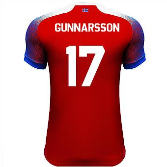 2018-2019 Iceland Third Errea Football Shirt (Gunnarsson 17)