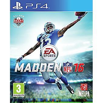 Madden NFL 16 (PS4) - Fabbrica sigillata