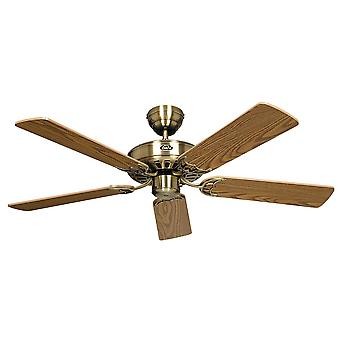 Ceiling fan CLASSIC ROYAL Antique Brass