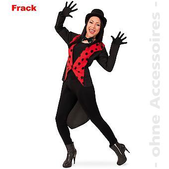 Frack beetle kostume beetle jakke damer kostume Ladybug Ladybird damer kostume