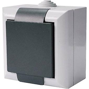 GAO 9167 Wet room switch product range PG socket Business-Line Grey