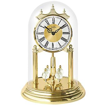 Year quartz glass Bell table clock shelf clock mantel clock AMS year quartz watch