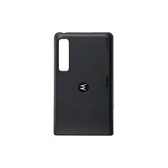 Motorola Droid 3 XT862 trådløs lading Batteridør/deksel SJHN0740A (svart) (bulk emballasje)