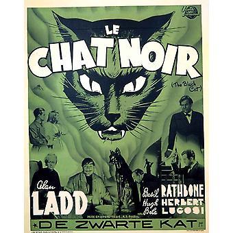 L'affiche du film chat noir (11 x 17)