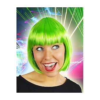 Perücken-Bob Perücke Sophia Fluo grün