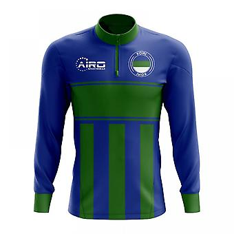 مفهوم كومي لكرة القدم نصف الرمز البريدي ميدلايير الأعلى (الأخضر والأزرق)