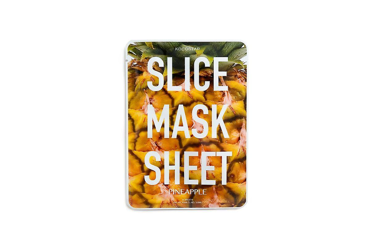 Kocostar Pineapple Slice Mask - Contains 12 Patches