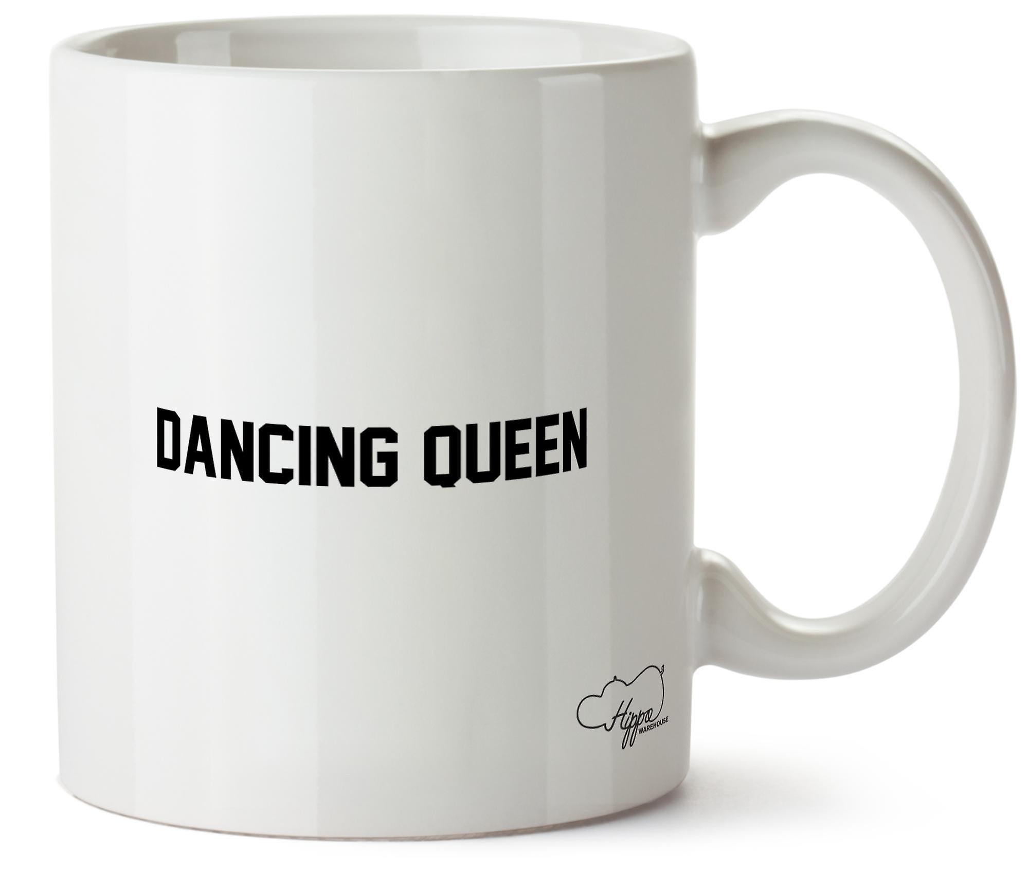 Hippowarehouse Dancing Queen Printed Mug Cup Ceramic 10oz