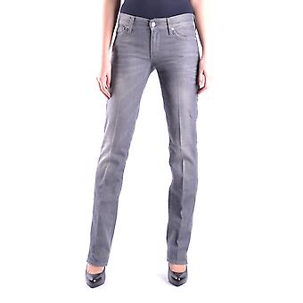 7 For All Mankind Ezbc110001 Women's Grey Cotton Jeans