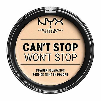 NYX PROF. MAKEUP Can ' t stop Won ' t stop Powder Foundation-Pale