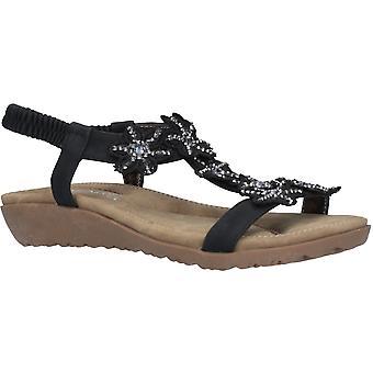 Fleet & Foster Womens Magnolia T Bar Light Summer Sandals