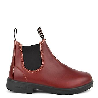 Blundstone Kids' 1419 Burgundy Rub Leather Boot