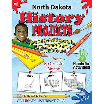 North Dakota History Projects - 30 Cool Activities - Crafts - Experim