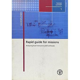 Rapid Guide for Missions - Analysing Local Institutions and Livelihood