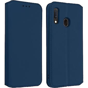 Classic Edition stand geval met kaartsleuf voor Samsung Galaxy A20e-donkerblauw