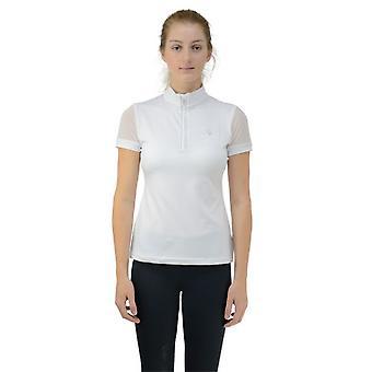 HyFASHION dames/dames Maddie mesh mouwen show shirt