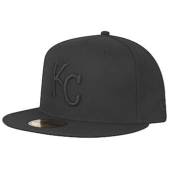 New Era 59Fifty Cap - MLB BLACK Kansas City Royals