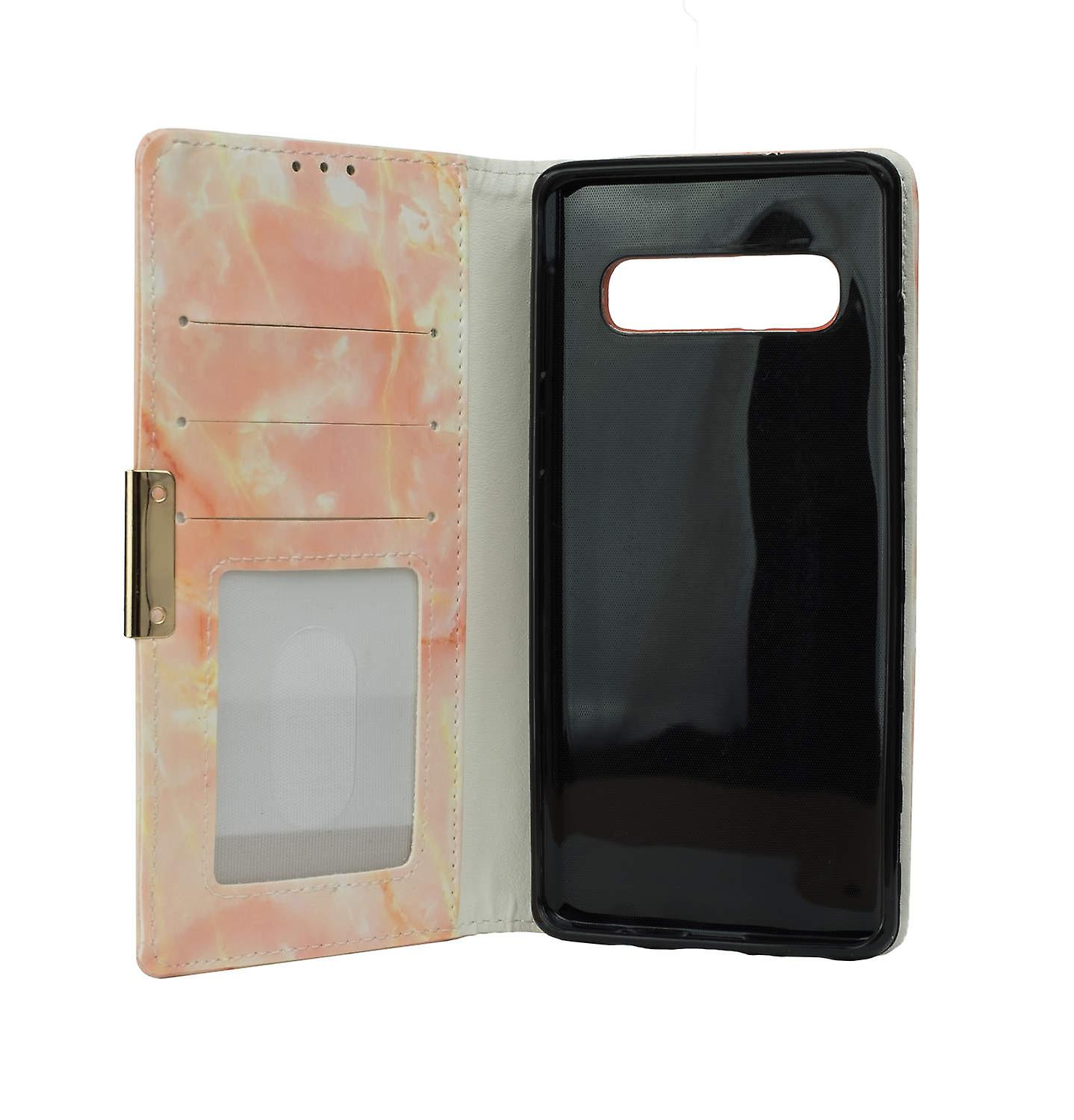 Wallet Case Marble - Samsung Galaxy s10