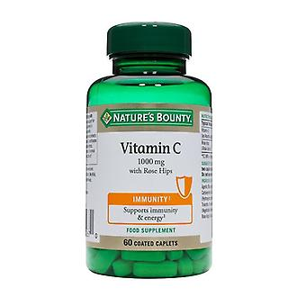 Nature's Bounty vitamine C 1000 mg met rozenbottels 60 (N676)