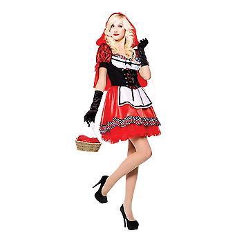 Costume da donna/donna di cappuccio rosso dolce
