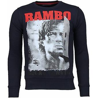 Rambo-tekojalokivi neule-laivastonsininen
