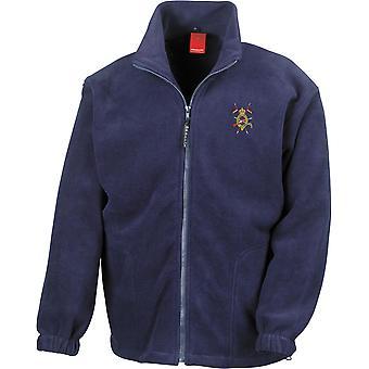 Yhdistetty ratsu väen vanha toverit CCOCA-lisensoitu Britannian armeijan kirjailtu raskaansarjan fleece takki
