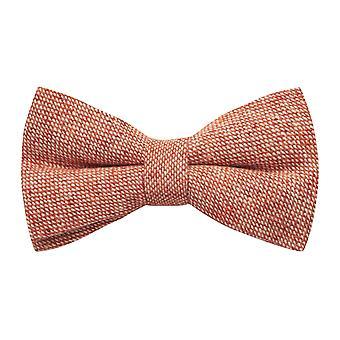 Highland splot Stonewashed cegła czerwony krawat
