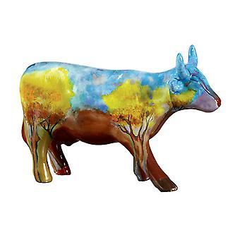 Cow Parade Vaca do Cerrado (medium ceramic)
