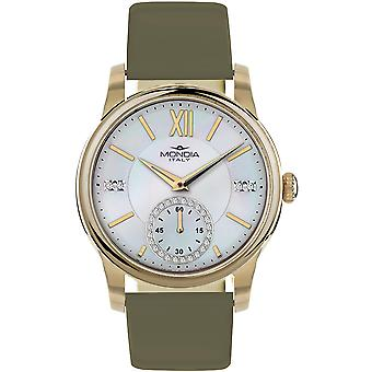 Mondia madison lady Japanese Quartz Analog Woman Watch with MI741P-1CP Cowskin Bracelet