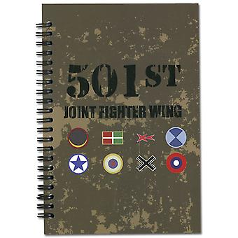 Notebook - Strike Witches - New 501st Logo Stationary Anime Licensed ge6375