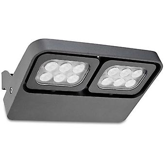 Wellindal Spotlight Abril 12xLed 11W Urban Grey
