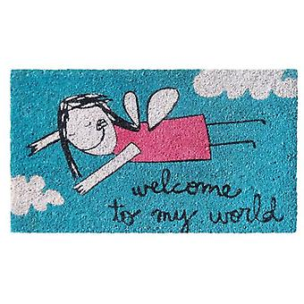 Tuomi Doormat Tuomi Welcome to my world (Decoration , Carpets)