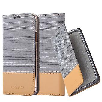 Cadorabo tilfældet for Apple iPhone XR sag Cover-telefon tilfældet med magnetisk lukning, stativ funktion og kort sag-sag Cover sag case sag bog folde stil