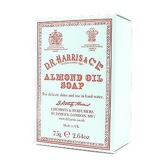 D R Harris Almond Oil Hand Soap 75g