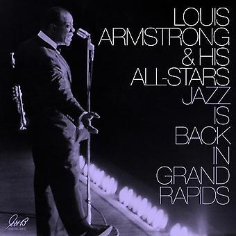 Armstrong*Louis & His All-Stars - Jazz Is Back in Grand Rapids [Vinyl] USA import