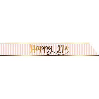 Creative Party Pink Chic 21st Birthday Sash