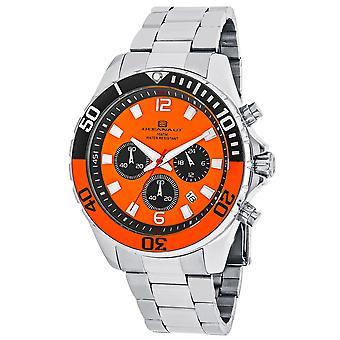 Oceanaut Men-apos;s Sevilla Orange Dial Watch - OC2522