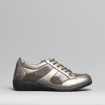 Dr Keller Marla Ladies Casual Shoes Pewter